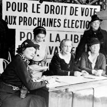 Droit de vote, Louise Weiss