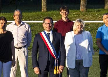 Photo de groupe élus