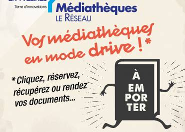 DRIVE mediatheque facebook